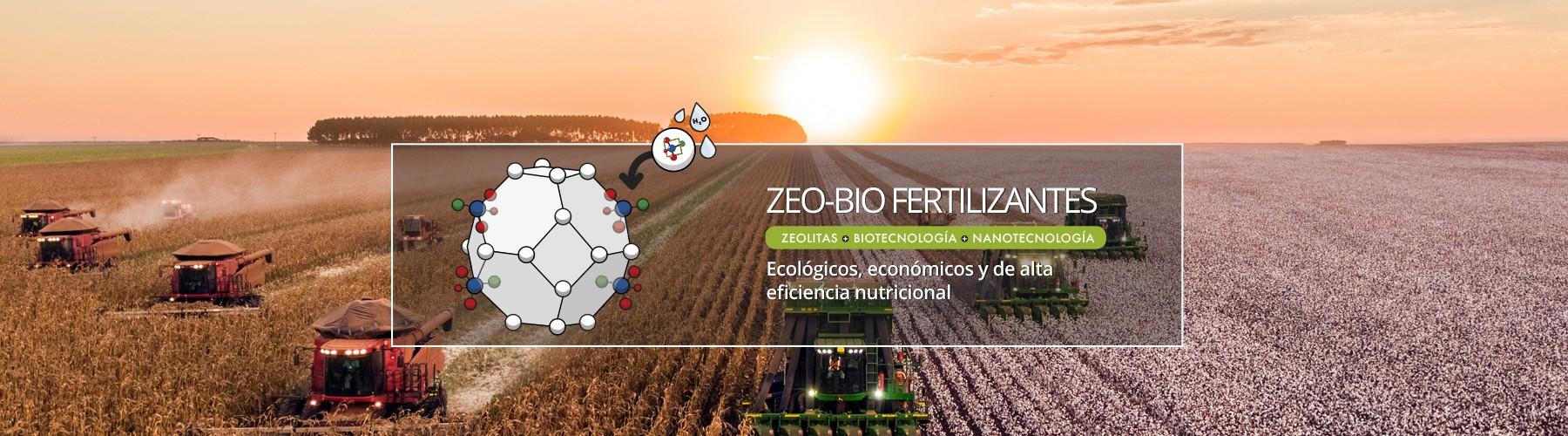 ZEO-BIO FERTILIZANTES Zeolitas Inagrosa
