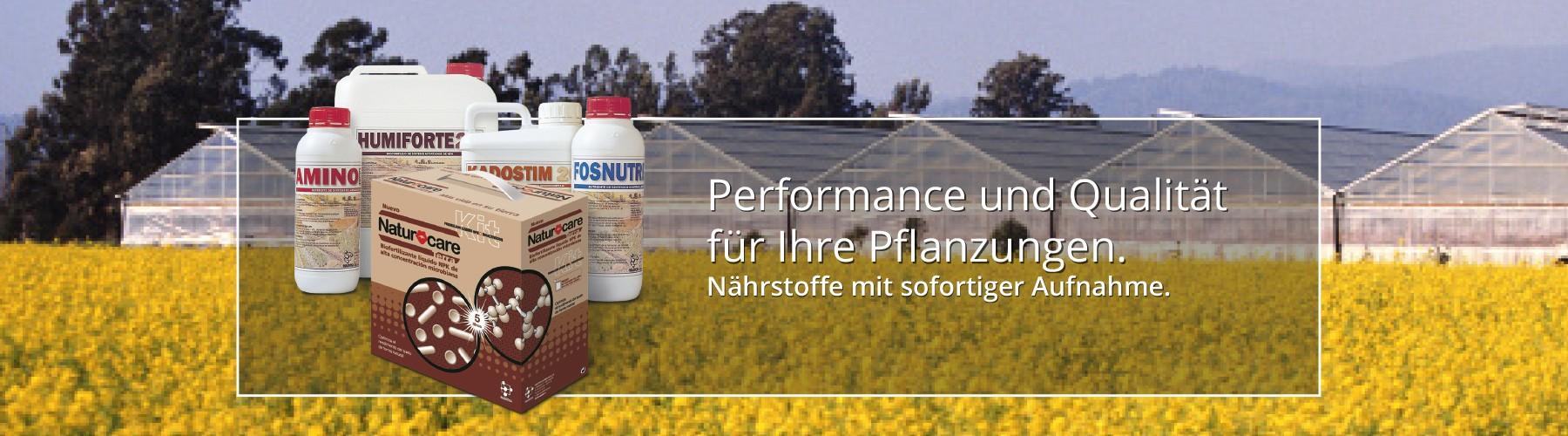 Performance und Qualität für Ihre Pflanzungen