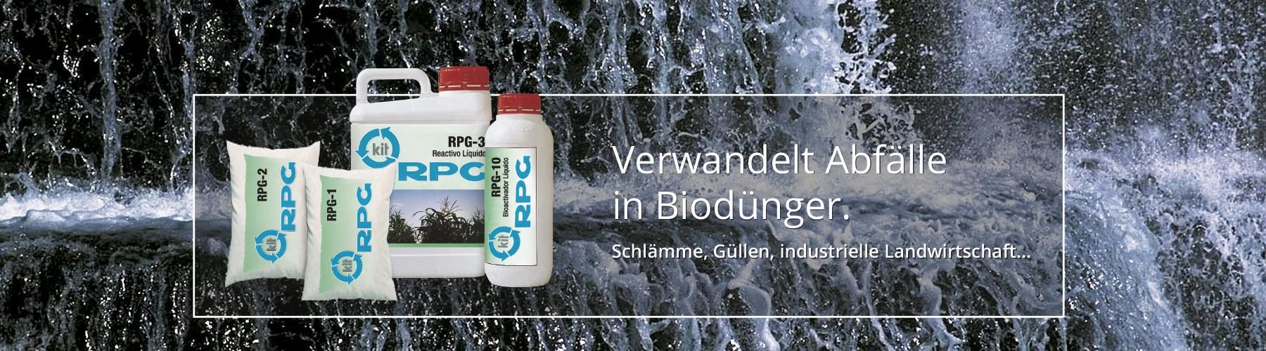 Verwandelt Abfälle in Biodünger